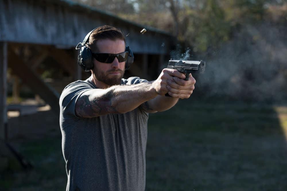max running Scott_OutdoorRange_web SIG SAUER P320 pistol