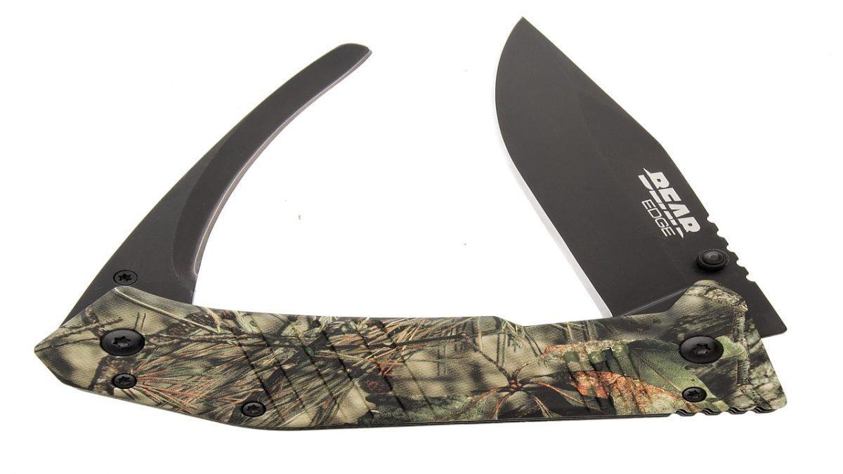 bear edge, knife, hunting knife, hunting