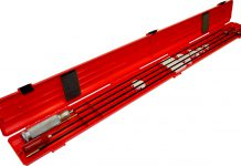 gun cleaning rod case, gun cleaning, guns, shooting , hunting, new guns and gear