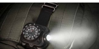 watch light, hunting watch, shooting watch, hunting gear, watch, wristlight, surefire