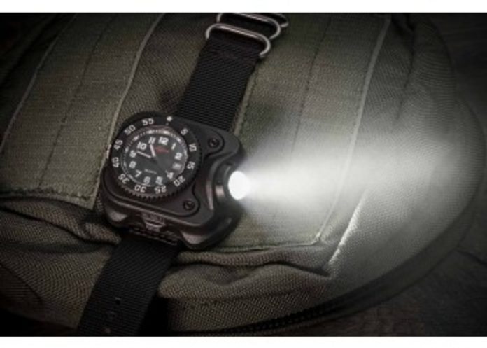 watch light, hunting watch, shooting watch, hunting gear, watch, wristlight, surefire