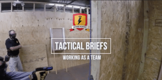 tactical briefs training video working as a team distributed security