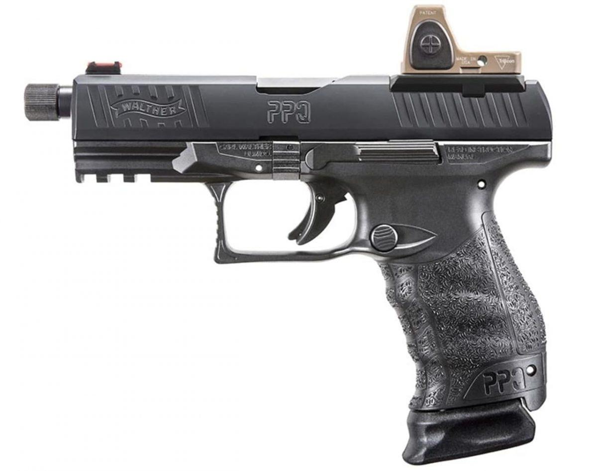 walther, walther ppq, q4 tac, guns, new guns, concealed carry, getzone shooting