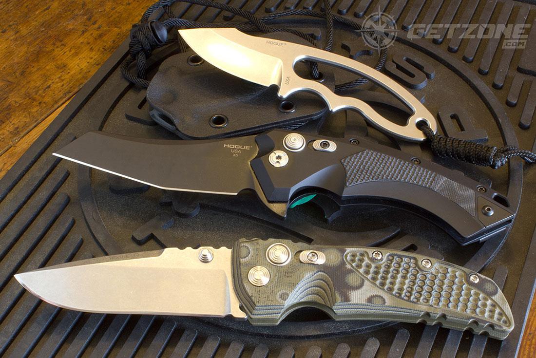 hogue knives, knives, pocket knives, new gear, hunting, camping
