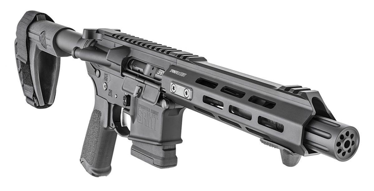 springfield armory, saint ar-15 pistol, new guns, guns, getzone shooting