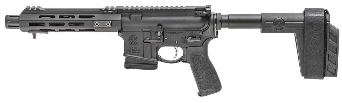 saint ar-15 pistol, springfield armory, new guns, guns, pistol