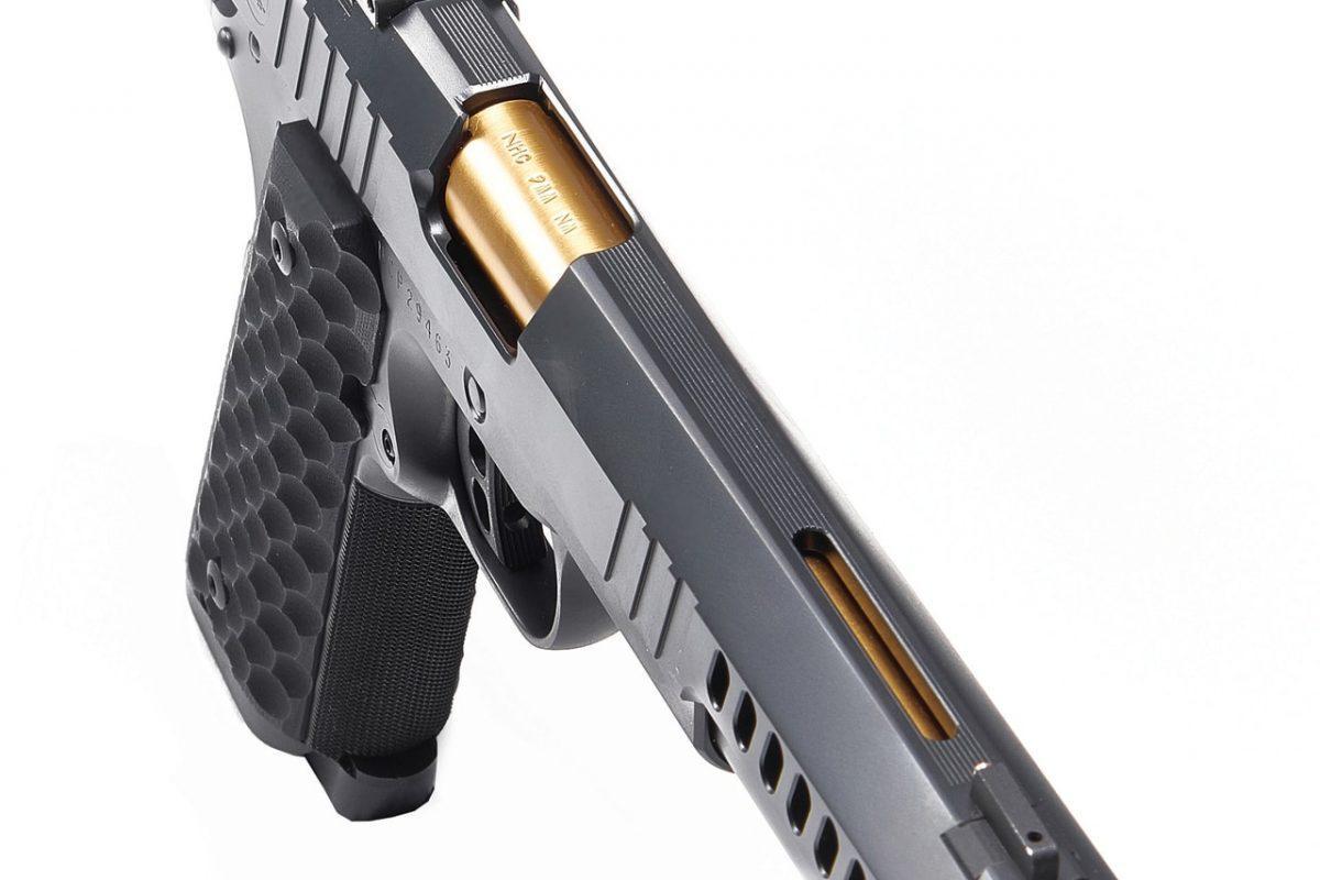 Nighthawk Custom Chairman 9mm Luger 6in Black Pistol - 10