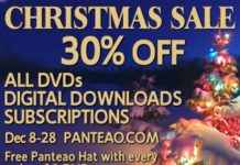 panteao, christmas sale
