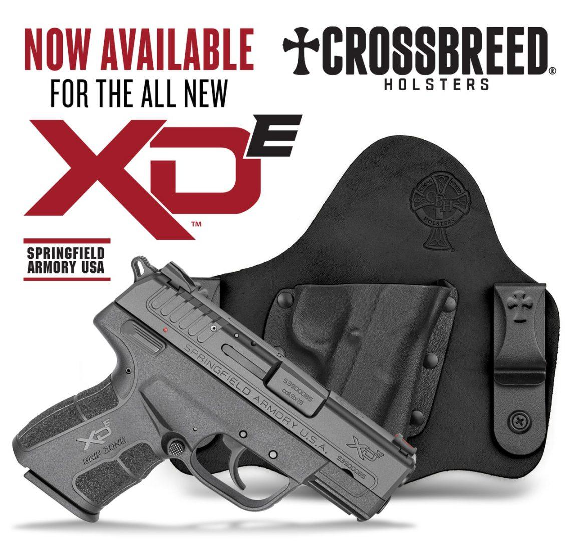 New Gear: CrossBreed Holster for Springfield Armory XD-E  45
