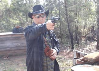 45 colt SA revolver