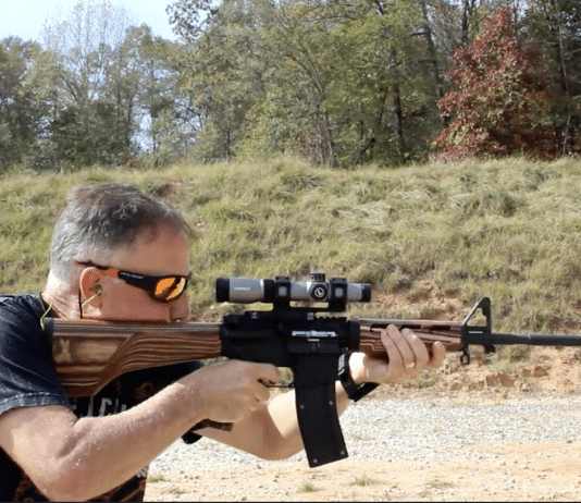 22 LR AR-15 conversion