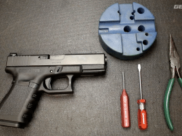 glock complete frame disassembly