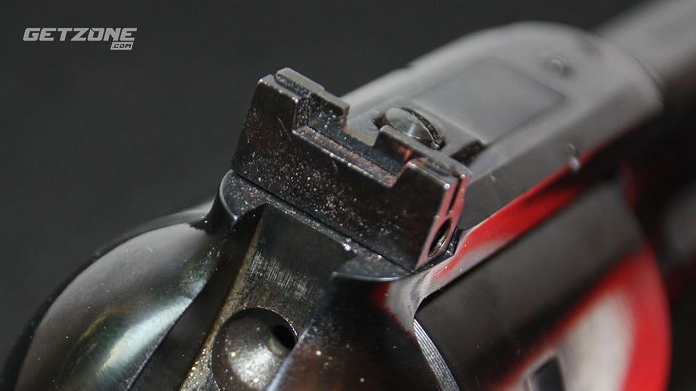 single action revolver