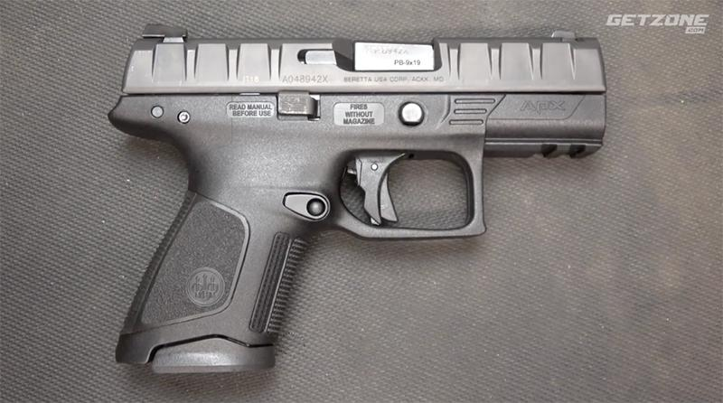 Sootch00 Review: Beretta APX Compact Pistol - GetZone