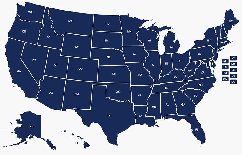 NEWS: USCCA Launches Interactive State Reciprocity Map - GetZone