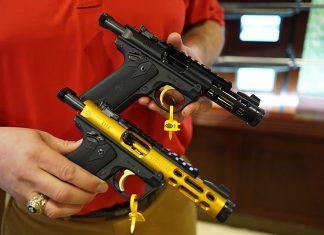 mark iv, pistols