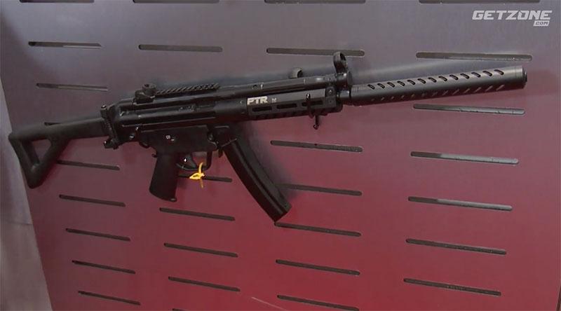 Gun Stock Reviews: SHOT Show 2019 - PTR 9R 608 9mm Carbine