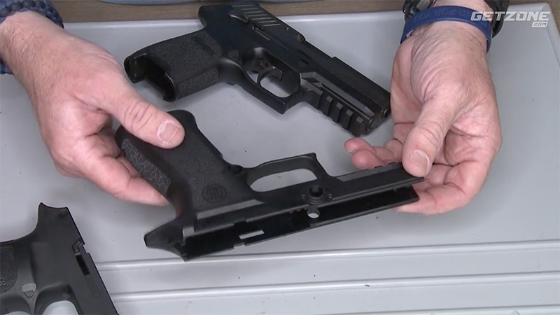 Grip Chop and Texture SIG P320 X-Carry