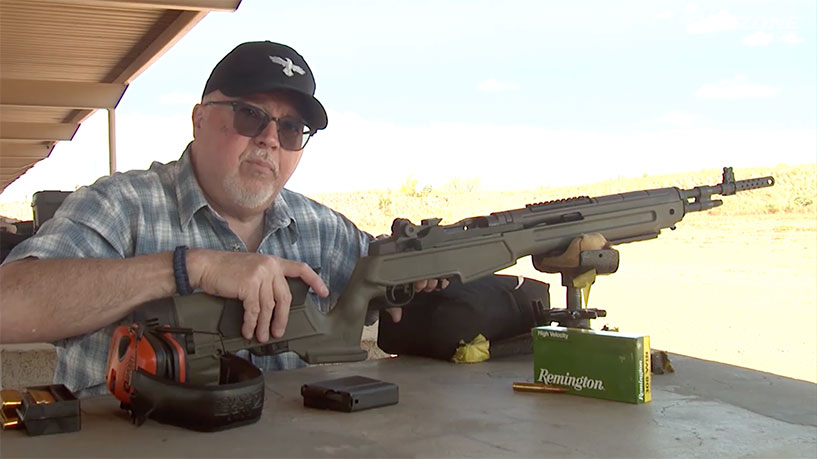 Gun Stock Reviews: Springfield Armory M1A Scout Squad Rifle with