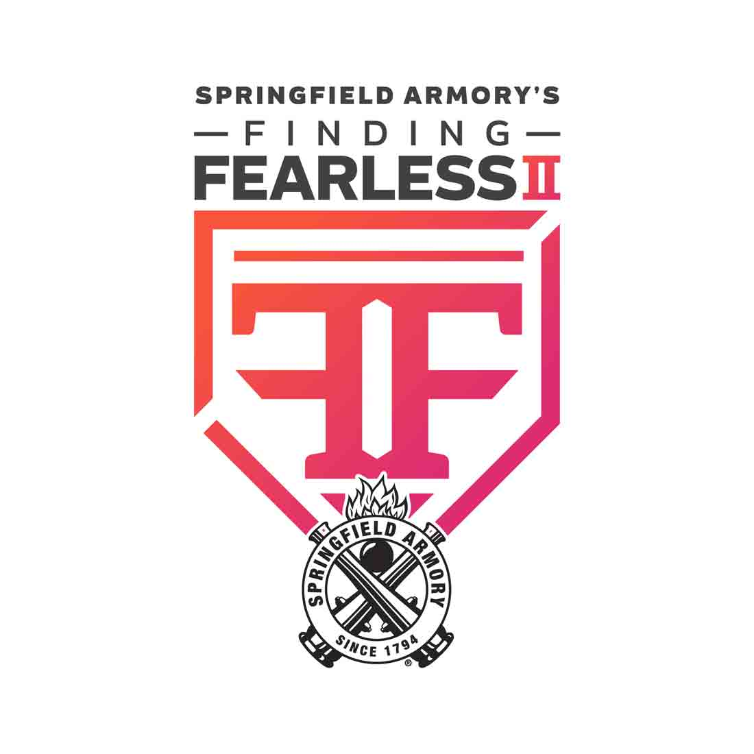 Springfield Armory's Finding Fearless 2 logo