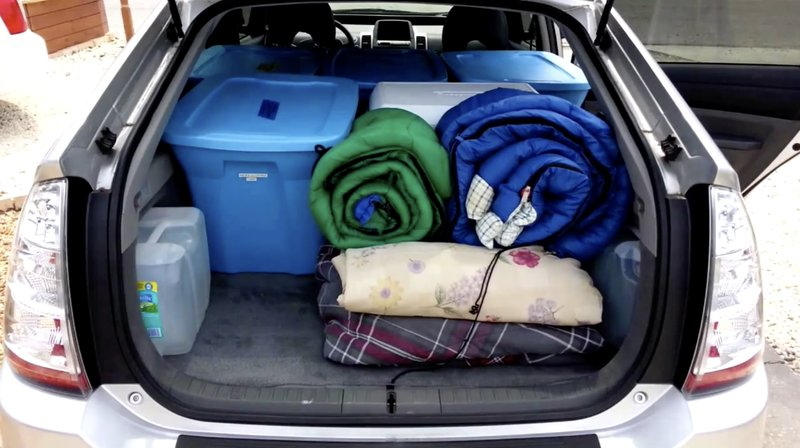 survival living in your car