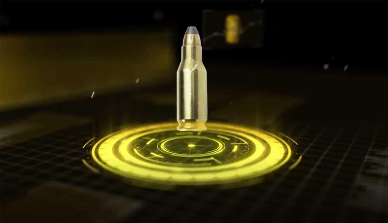Rock_Island_Armory_TCM_pistol_bullet_impact