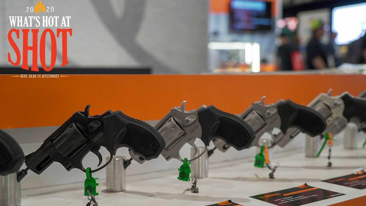 Taurus 942 revolver_shot show