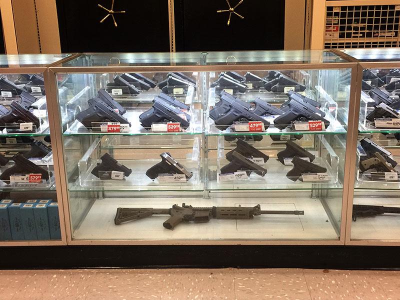 coronavirus, gun store