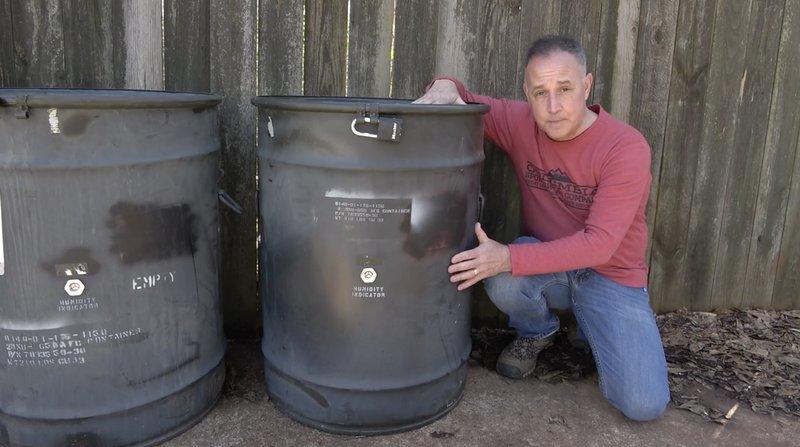 58 gallon drums