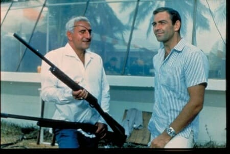 Largo and Bond with a Browning Auto-5 in a Thunderball production still_imfdb