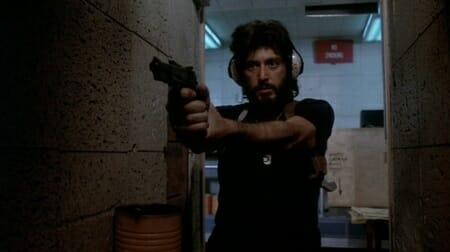 Serpico fires his Hi-Power at the police range in Serpico_imfdb