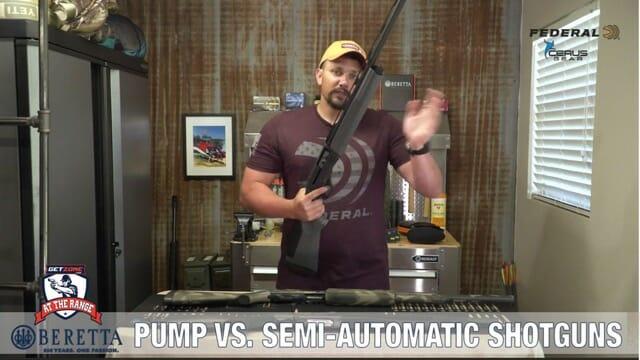 pump vs semi-automatic