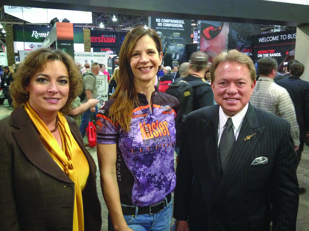 Meeting the ultimate icon of tactical: Ronnie Barrett along with his wife Donna.