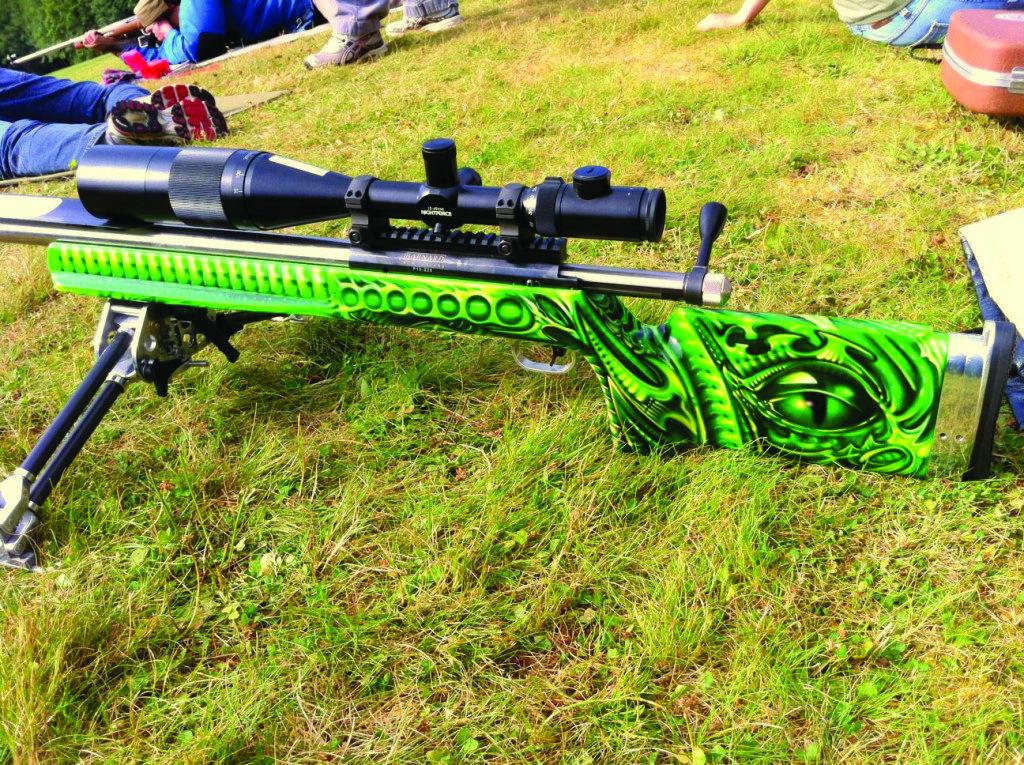 Cool Rifle Paint job