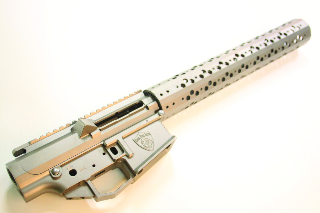 Devil Dog Arms 308 prototype, called the Cerebus.