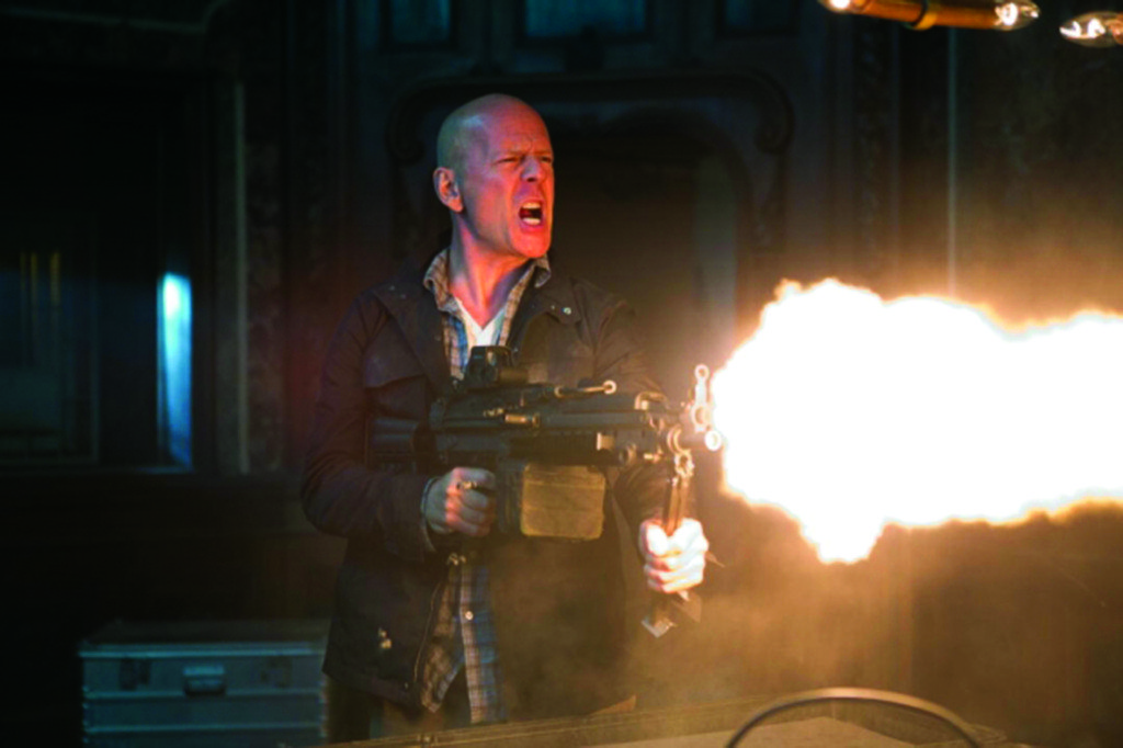 No Merchandising. Editorial Use Only. No Book Cover UsageA Good Day To Die Hard - Bruce Willis A Good Day To Die Hard - 2013 (Rex Features via AP Images)