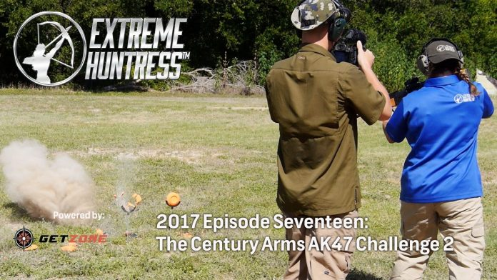 Extreme Huntress: Century Arms AK47 Challenge Part Two