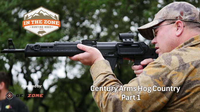 In the Zone: Century Arms Hog Hunt