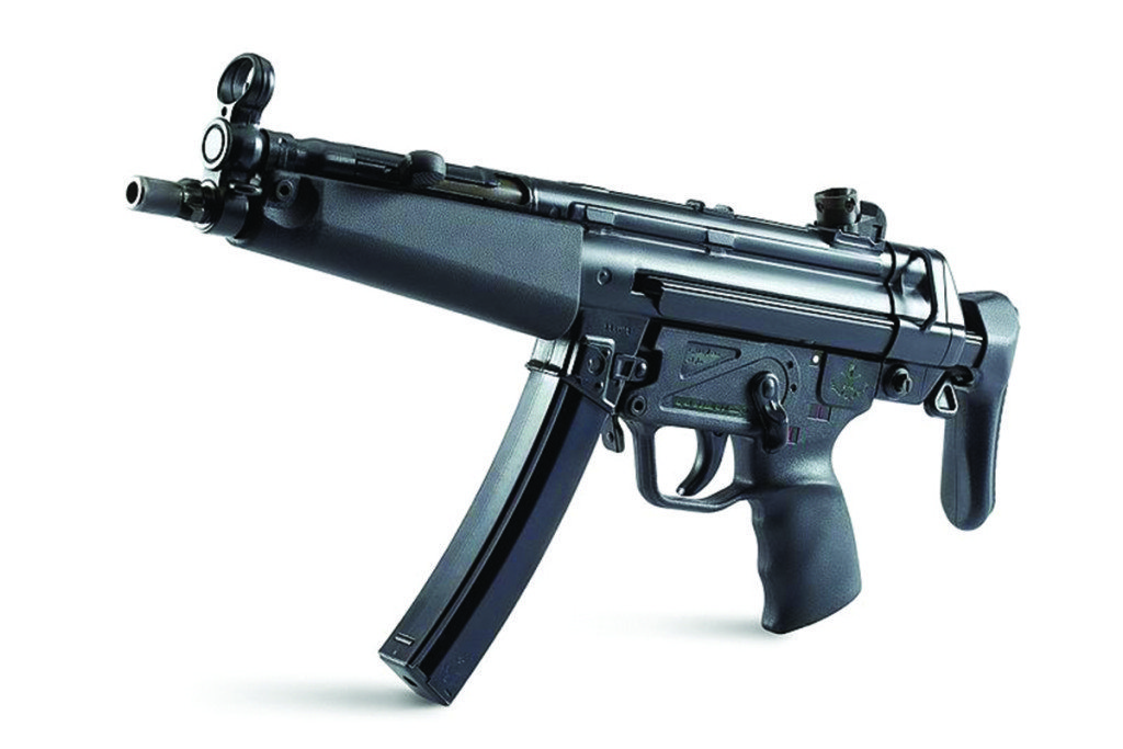 MP5 with retractable stock