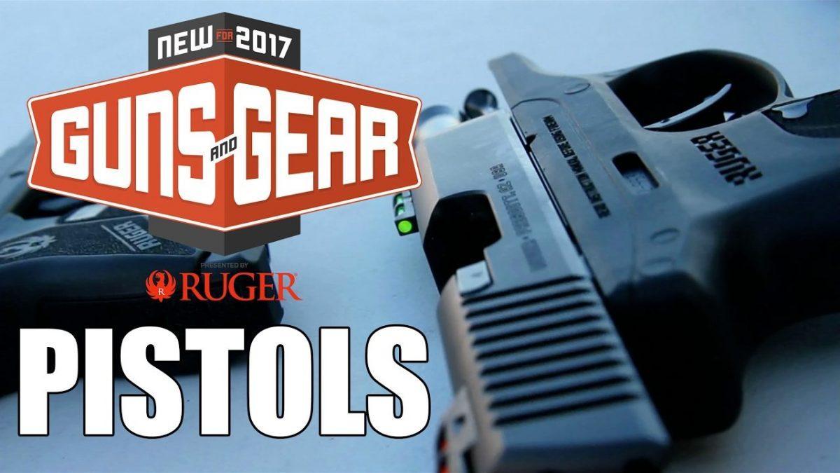 New Pistols for 2017