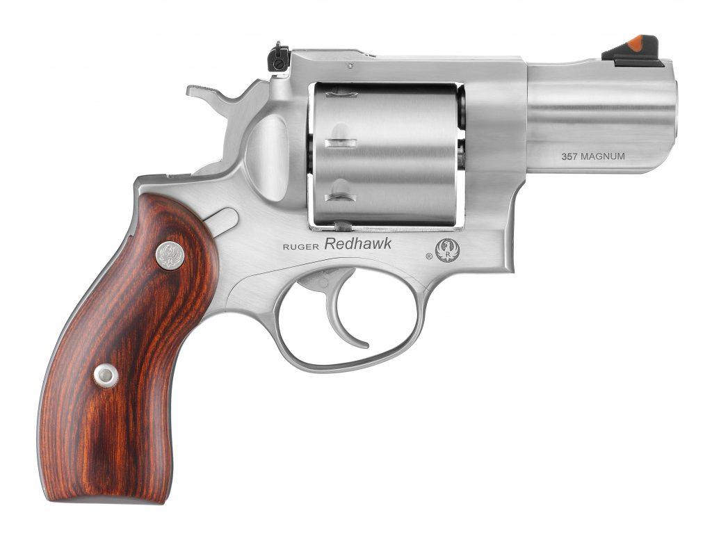 Ruger Redhawk 357 magnum revolver 1b_side view