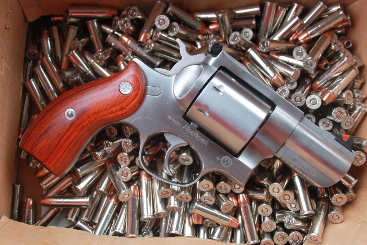 Ruger Redhawk 8-Shot  357 Magnum: Personal Defense Revolver