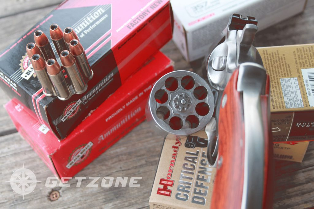 Ruger-Redhawk-357-magnum-revolver-with-ammo