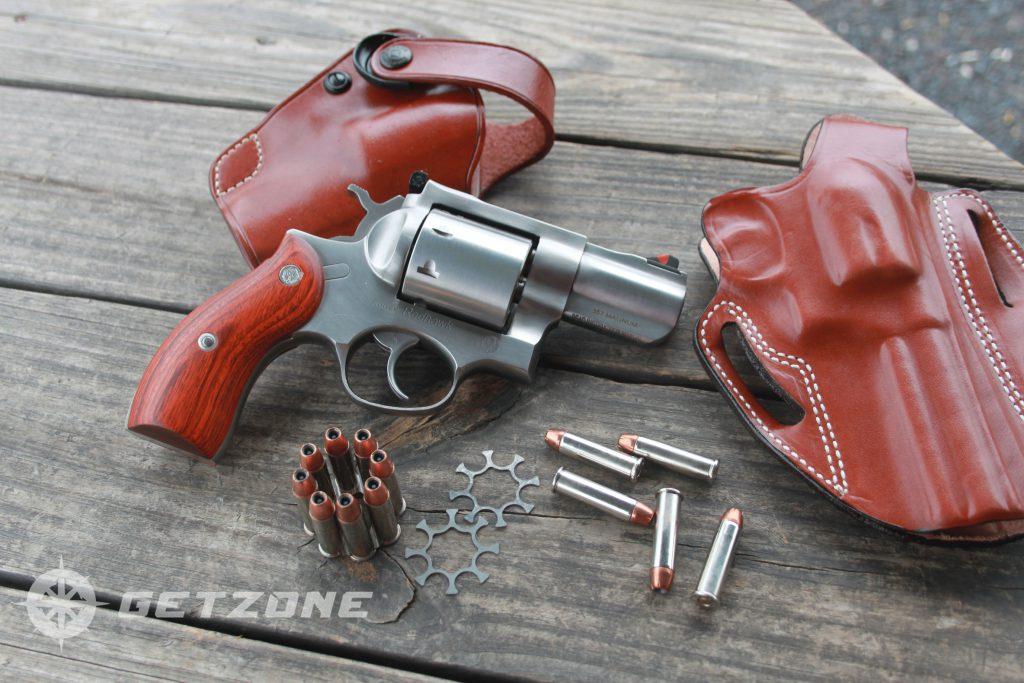 Ruger-Redhawk-357-magnum-revolver-with-holster