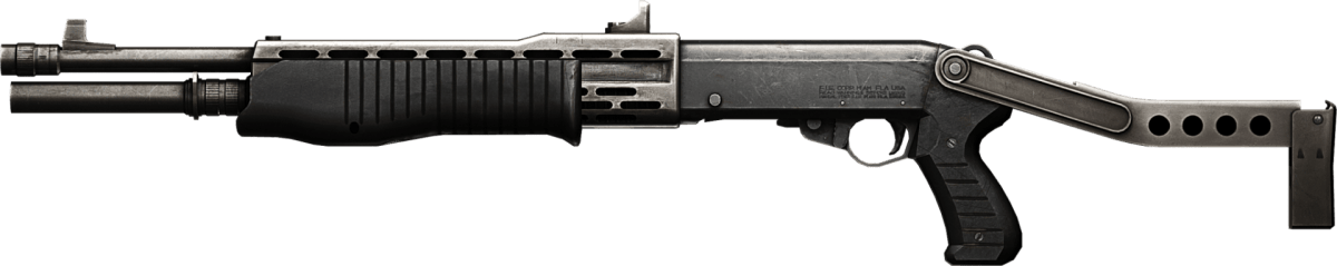 Franchi SPAS-12 - GUNS OF BAD BOYS