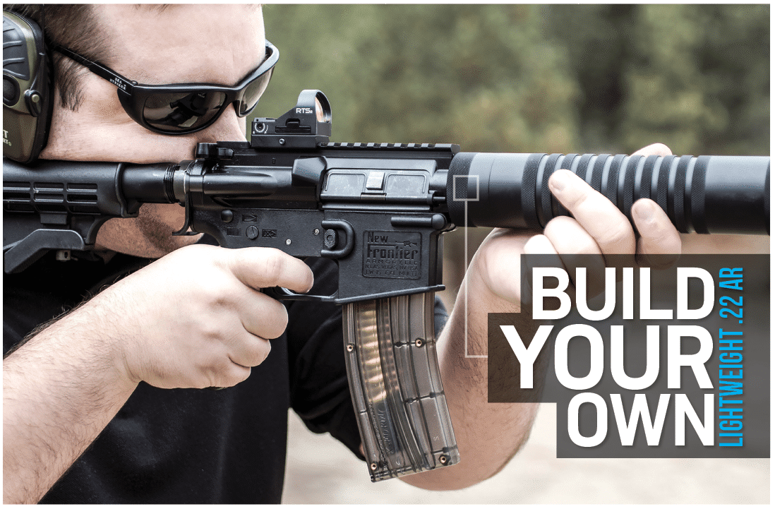 how to build your own lightweight .22 AR rifle