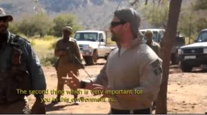 Instructor Zero Rhino Rangers training