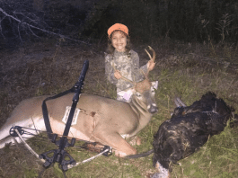 6 yr old shoots turkey and deer