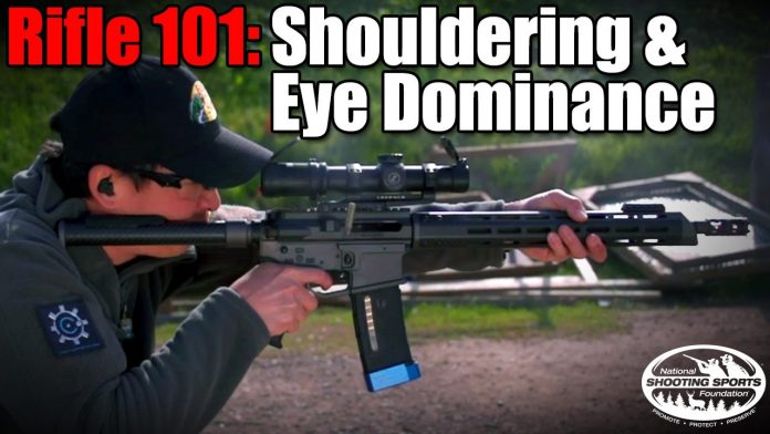 Shouldering a Rifle & Eye Dominance - Rifle 101 with Top Shot Chris Cheng