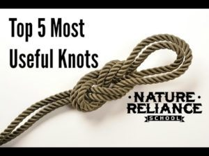 Top-Five-Useful-Knots-for-camping-survival-hiking-and-more